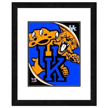 Kentucky Wildcats Team Logo Framed 11