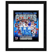 Kentucky Wildcats All-Time Greats Framed 11