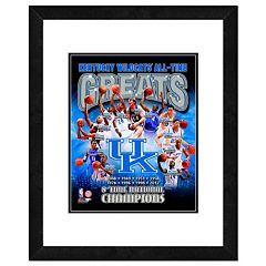 Kentucky Wildcats All-Time Greats Framed 11' x 14' Photo