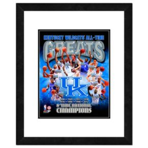 "Kentucky Wildcats All-Time Greats Framed 11"" x 14"" Photo"