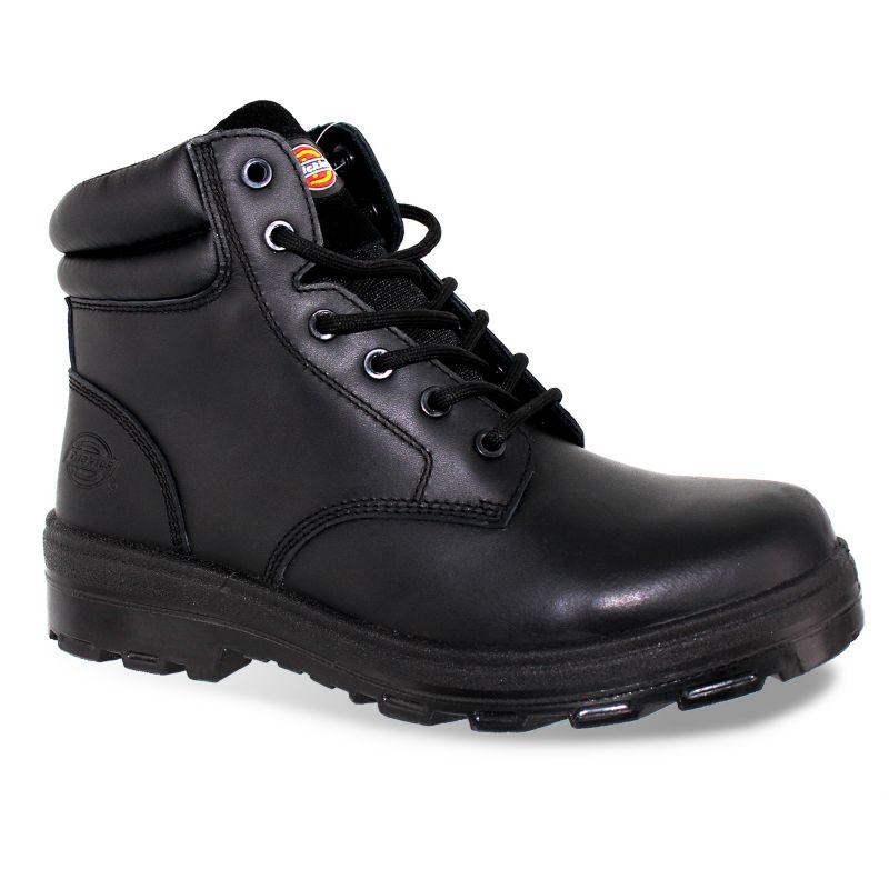 Black Steel Toe Boots For Men Men's Steel Toe Work Boots