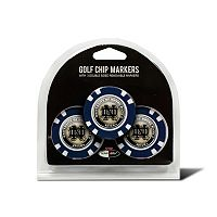 Team Golf Notre Dame Fighting Irish 3-pack Poker Chip Ball Markers