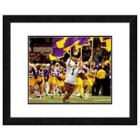 LSU Tigers Mascot Framed 11