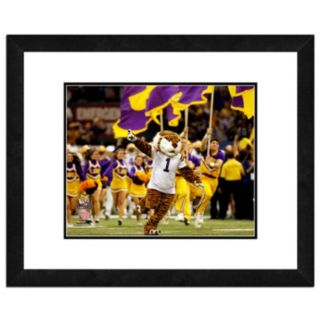 "LSU Tigers Mascot Framed 11"" x 14"" Photo"