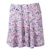 Candie's® Floral Knit Skater Skirt - Juniors