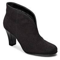 A2 by Aerosoles Gold Role Women's Slip-On Ankle Boots
