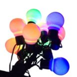 10-Light LED Old-Time Party String Lights