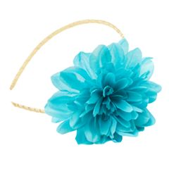Girls 4-16 Flower Glitter Headband