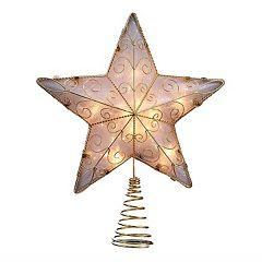 Kurt Adler 8.5-in. Reflector Star Christmas Tree Topper