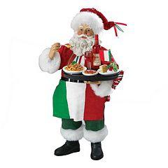 Kurt Adler Italian Santa Musical Christmas Decor