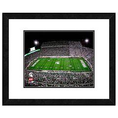 Michigan State Spartans Stadium Framed 11' x 14' Photo