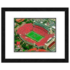 Nebraska Cornhuskers Stadium Framed 11' x 14' Photo