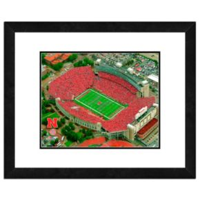 "Nebraska Cornhuskers Stadium Framed 11"" x 14"" Photo"