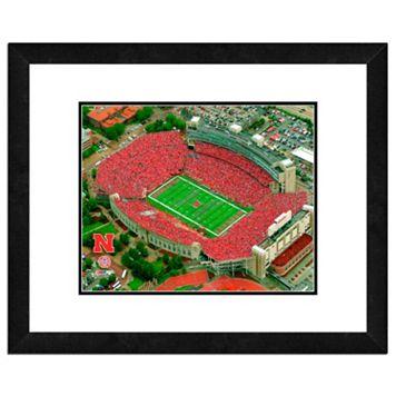 Nebraska Cornhuskers Stadium Framed 11