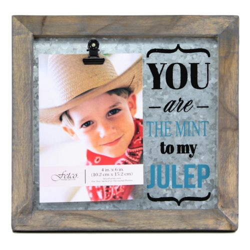 "Fetco Avadon ""You Are the Mint to My Julep"" 4"" x 6"" Frame"