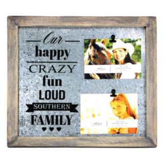 Fetco Avadon ''Southern Family'' 2-Opening Collage Frame