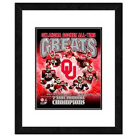 Oklahoma Sooners All-Time Greats Framed 11