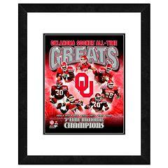 Oklahoma Sooners All-Time Greats Framed 11' x 14' Photo
