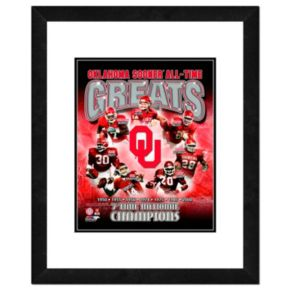 "Oklahoma Sooners All-Time Greats Framed 11"" x 14"" Photo"