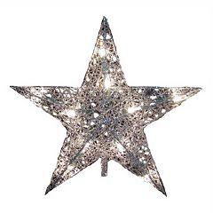 Kurt Adler 9-in. Metallic Star Christmas Tree Topper