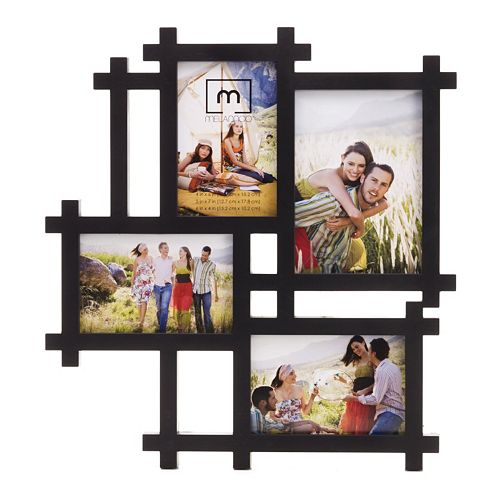melannco 4 opening lattice collage frame