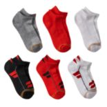 Boys GOLDTOE 6-pk. Ultra Tec Low-Cut Socks