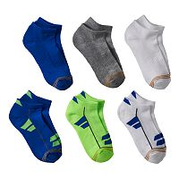 Boys GOLDTOE 6 pkUltra Tec Low-Cut Socks