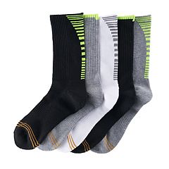 Boys GOLDTOE 5-pack Ultra Tec Crew Socks