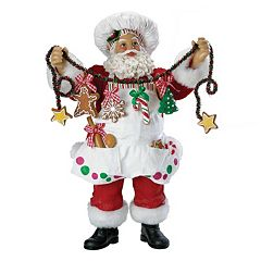 Kurt Adler Chef Santa Christmas Decor
