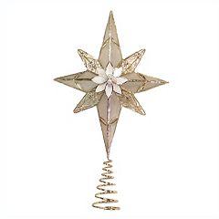 Kurt Adler 12-in. 8-Point Star Christmas Tree Topper