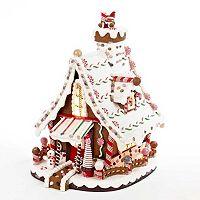 Kurt Adler Christmas Gingerbread House Decor
