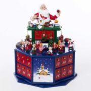 Kurt Adler Santa Workshop Musical Christmas Advent Calendar