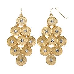Jennifer Lopez Disc Kite Earrings
