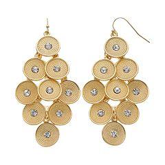 Jennifer Lopez Disc Kite Earrings