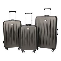 Prodigy Vector 3-Piece Hardside Spinner Luggage Set