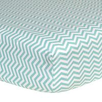 Trend Lab Flannel Crib Sheet