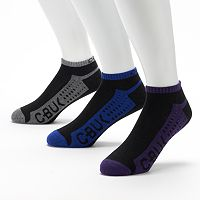 Men's C-BUK by Cutter & Buck 3-pk. Back Nine Performance Athletic Low-Cut Liner Socks