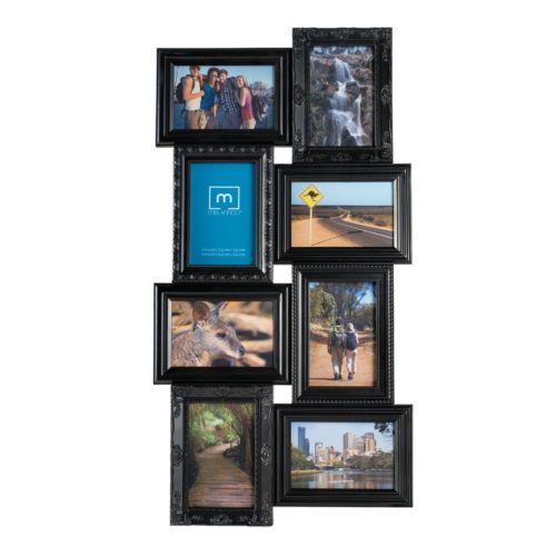 "Melannco 8-Opening 4"" x 6"" Collage Frame"
