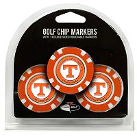 Team Golf Tennessee Volunteers 3-pack Poker Chip Ball Markers