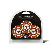 Team Golf Texas Longhorns 3-pack Poker Chip Ball Markers