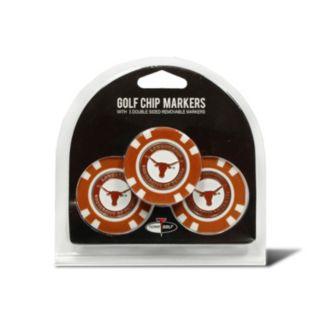Team Golf Texas Longhorns 3-pack Poker Chip Ball Markers