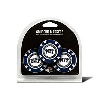 Team Golf Pitt Panthers 3-pack Poker Chip Ball Markers
