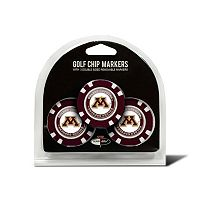 Team Golf Minnesota Golden Gophers 3-pack Poker Chip Ball Markers
