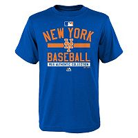Boys 8-20 Majestic New York Mets AC Team Property Tee