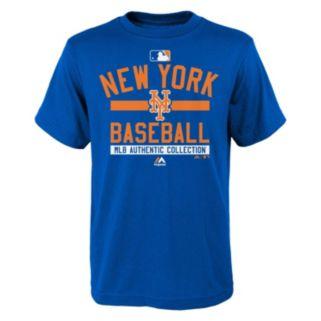 Boys 8-20 Majestic New York Mets AC Team Property Tee