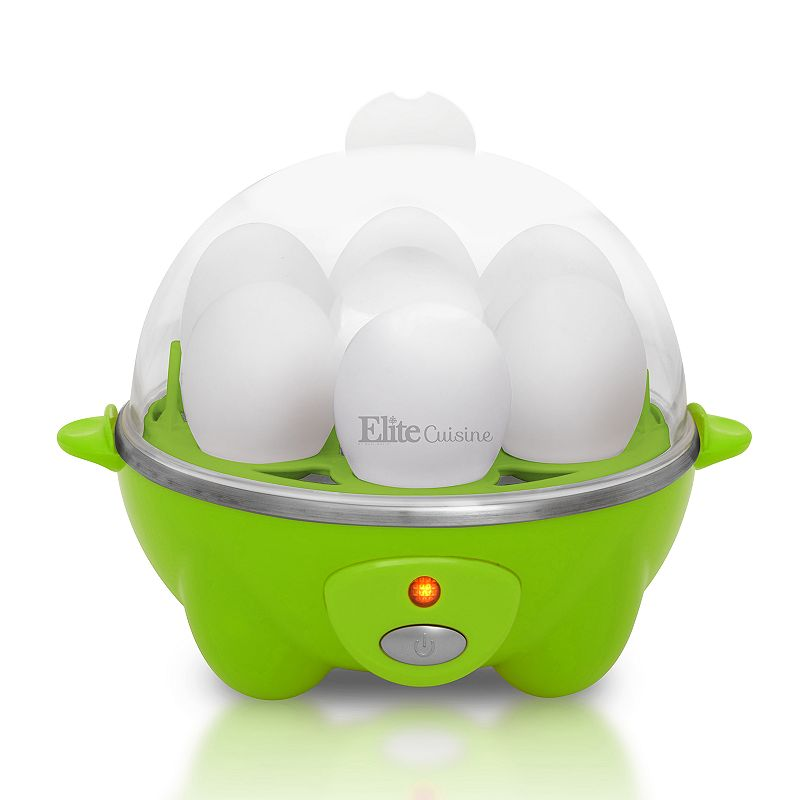 Elite Cuisine Automatic Easy Egg Cooker