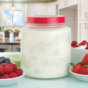Euro Cuisine Yogurt and Greek Yogurt 2-qt. Glass Jar