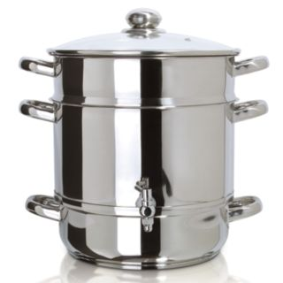 Euro Cuisine Stainless Steel Stovetop Juicer