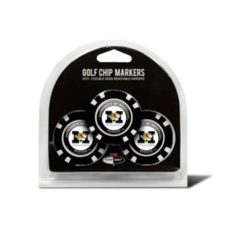Team Golf Missouri Tigers 3-pack Poker Chip Ball Markers
