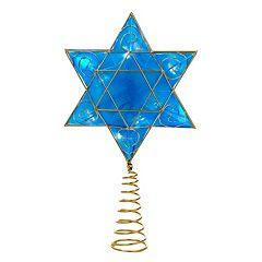 13-Inch Hanukkah LED Tree Topper
